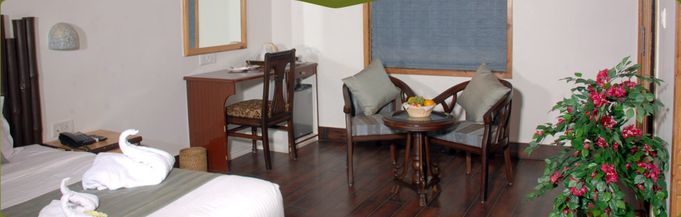 Luxury Rooms in Jim Corbett Resort